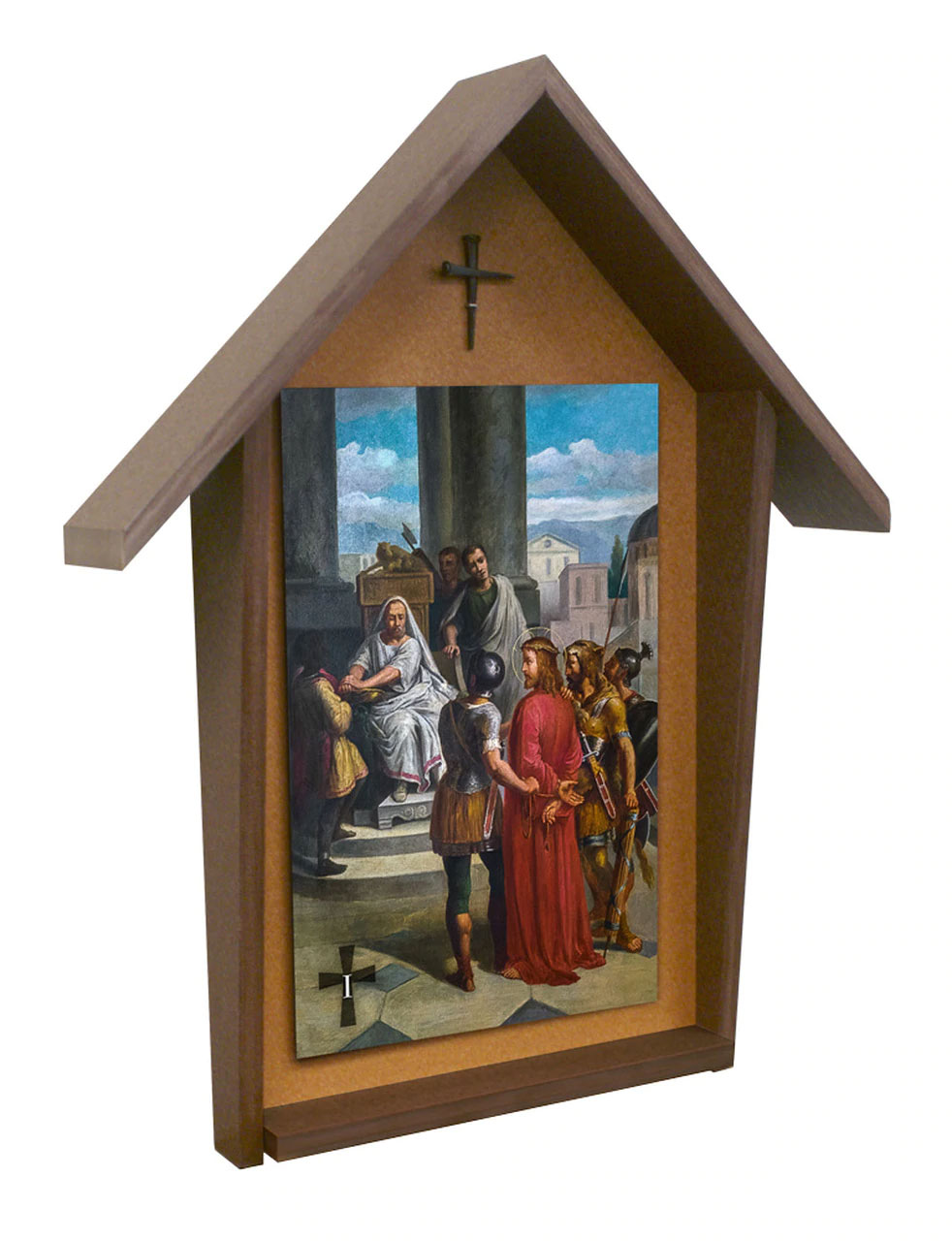 Outdoor Stations of the Cross | 10 x 11 | Set of 14 | Bertucci Deluxe