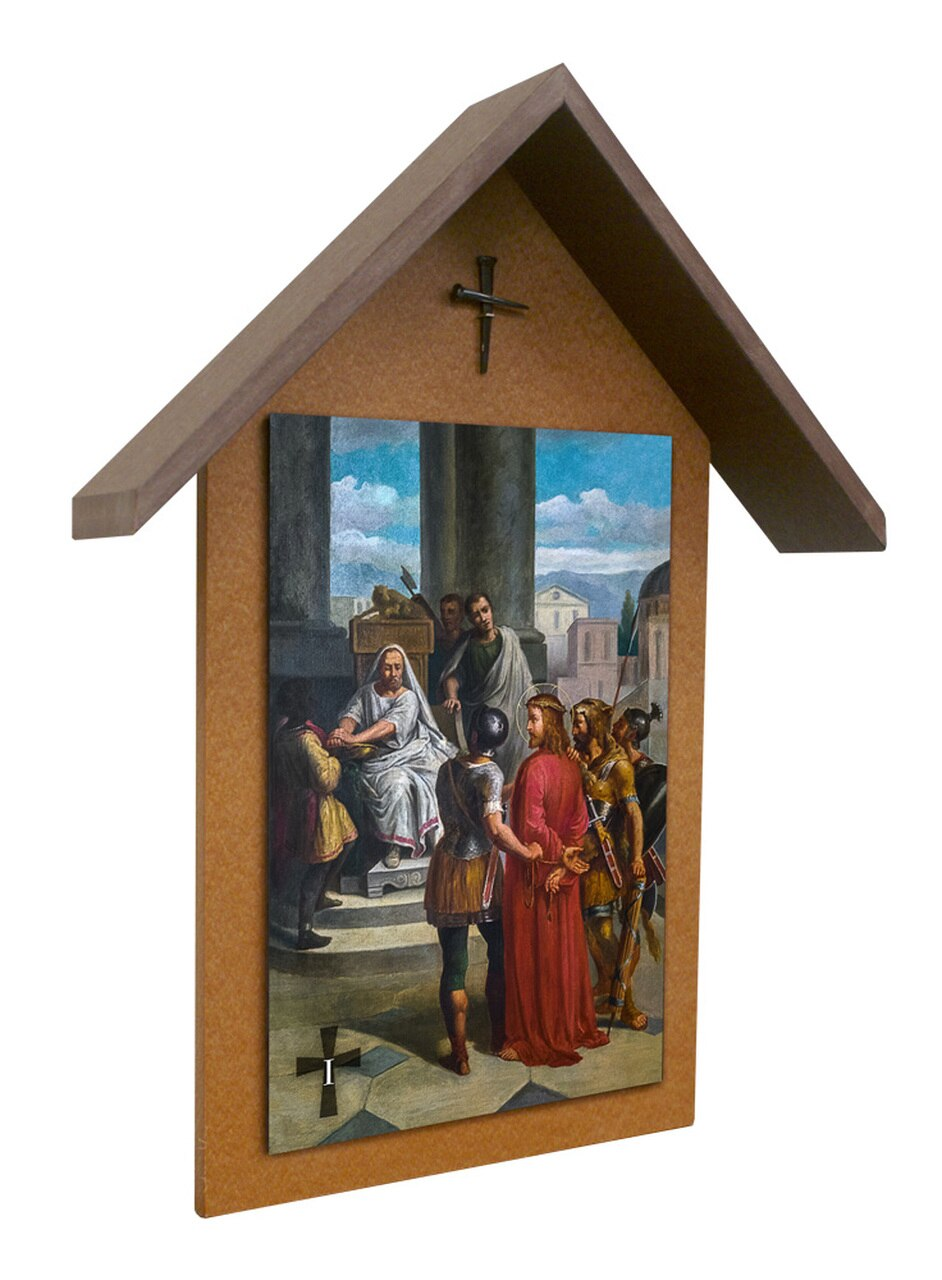 Outdoor Stations of the Cross | 10 x 15 | Set of 14 | Bertucci