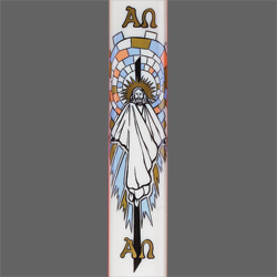 Paschal Candle Shell - Resurrection