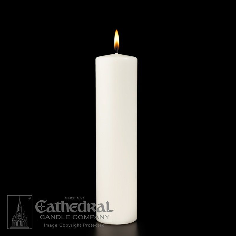 Christ Candle | White Pillar