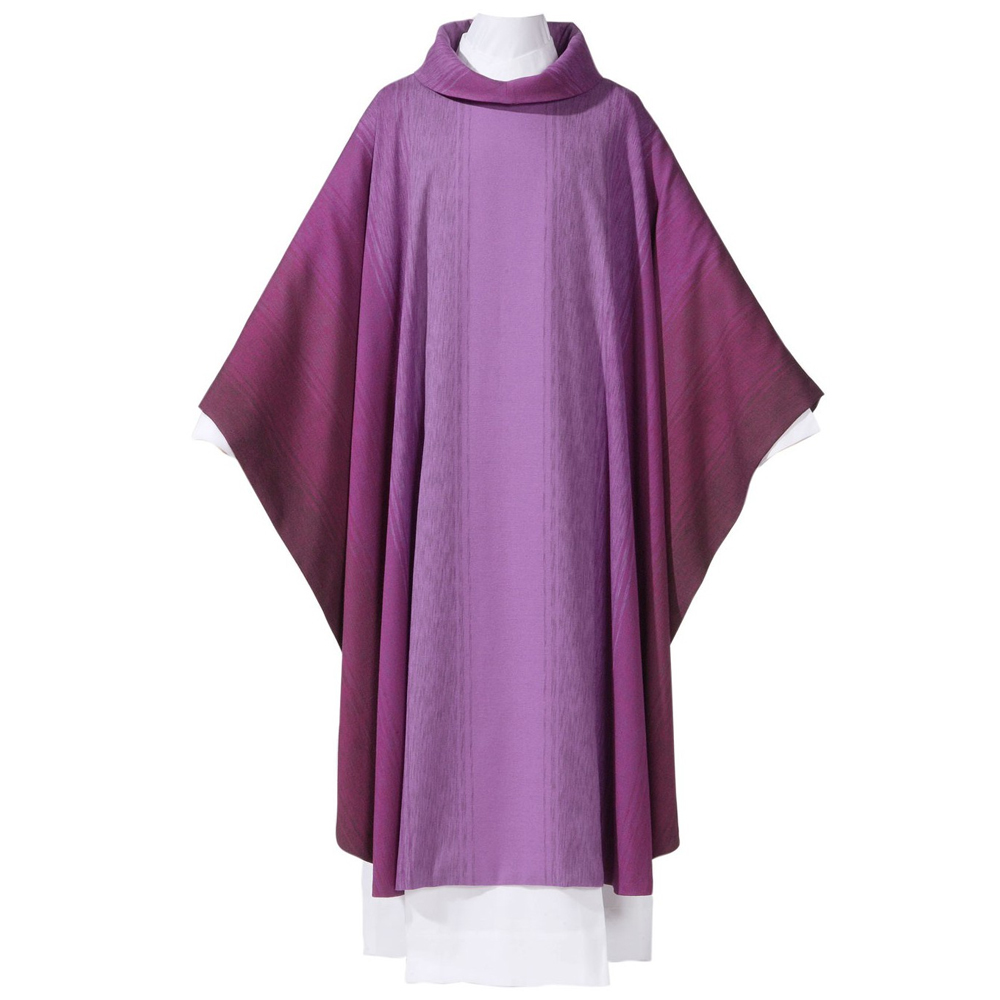 Purple Chasuble | Style 8927 | Wool Polyester
