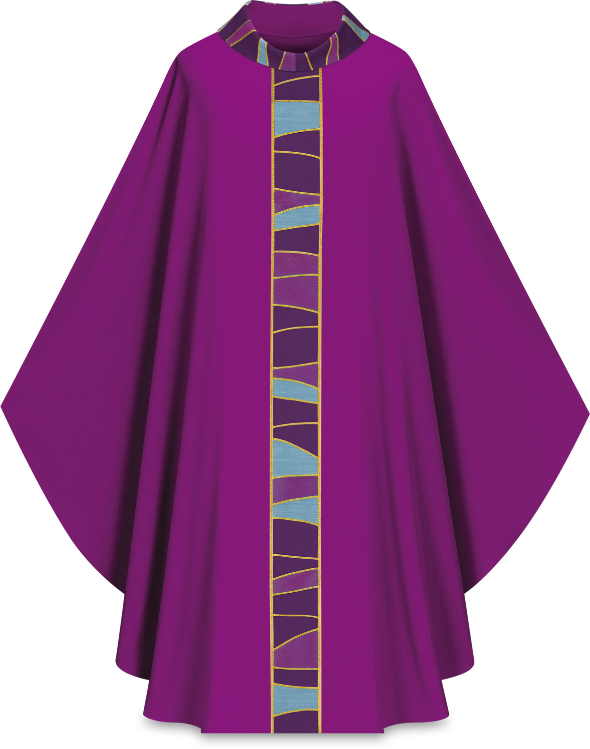 Chasuble | Purple | 5176 | Slabbinck