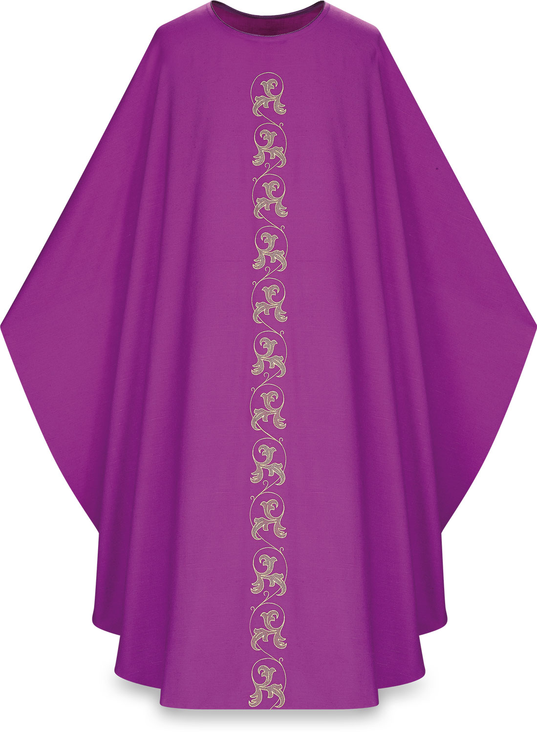 Chasuble | Purple | 5224 | Slabbinck