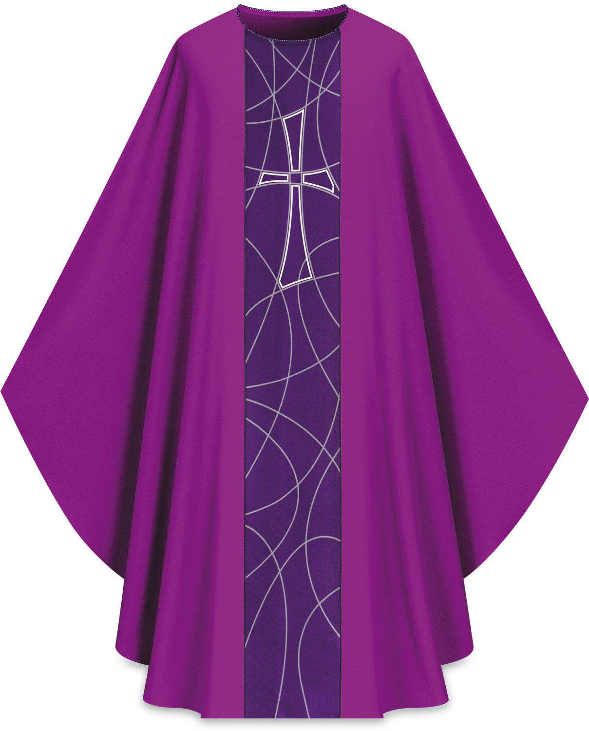 Chasuble | Purple | 5230 | Slabbinck