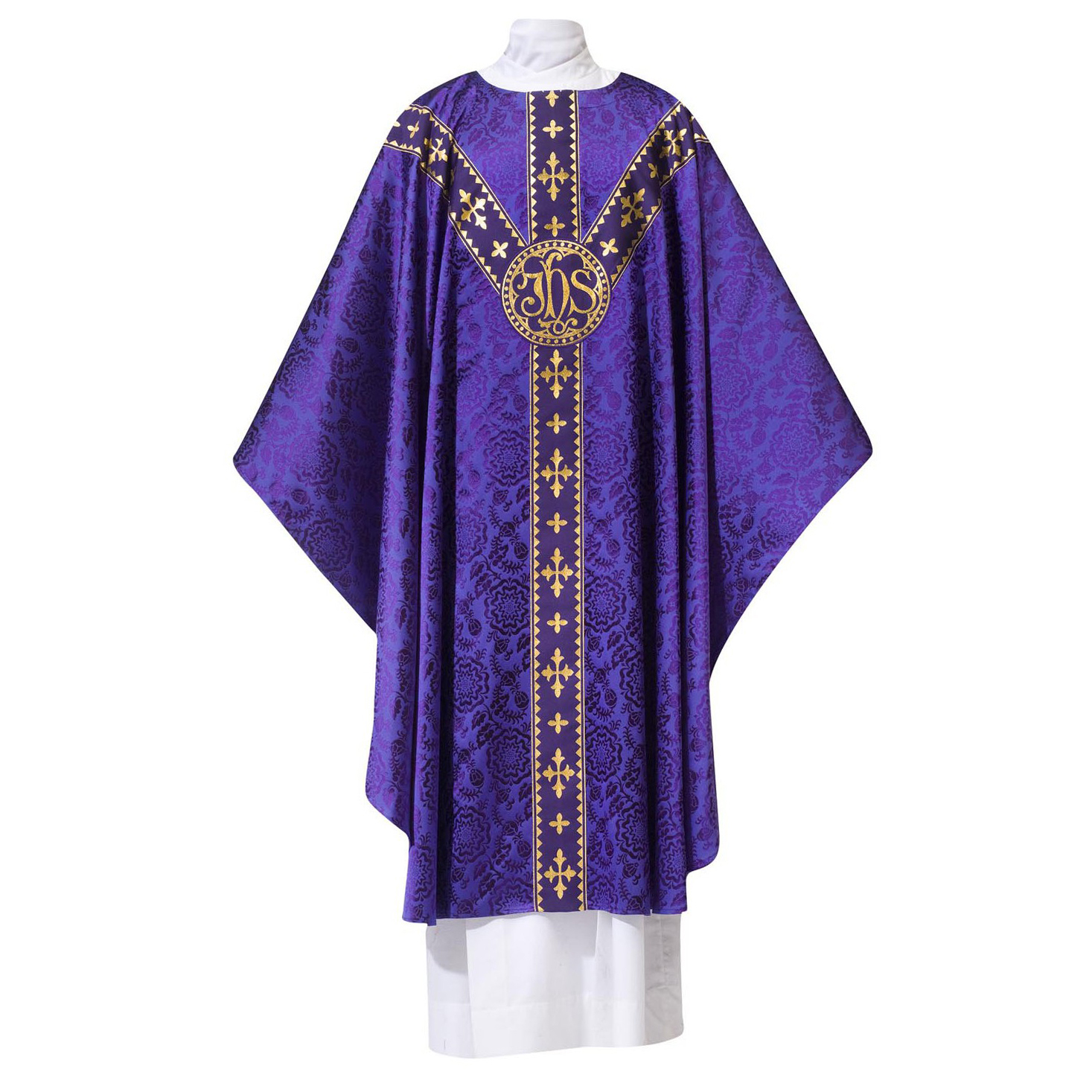 Chasuble | Purple Damask