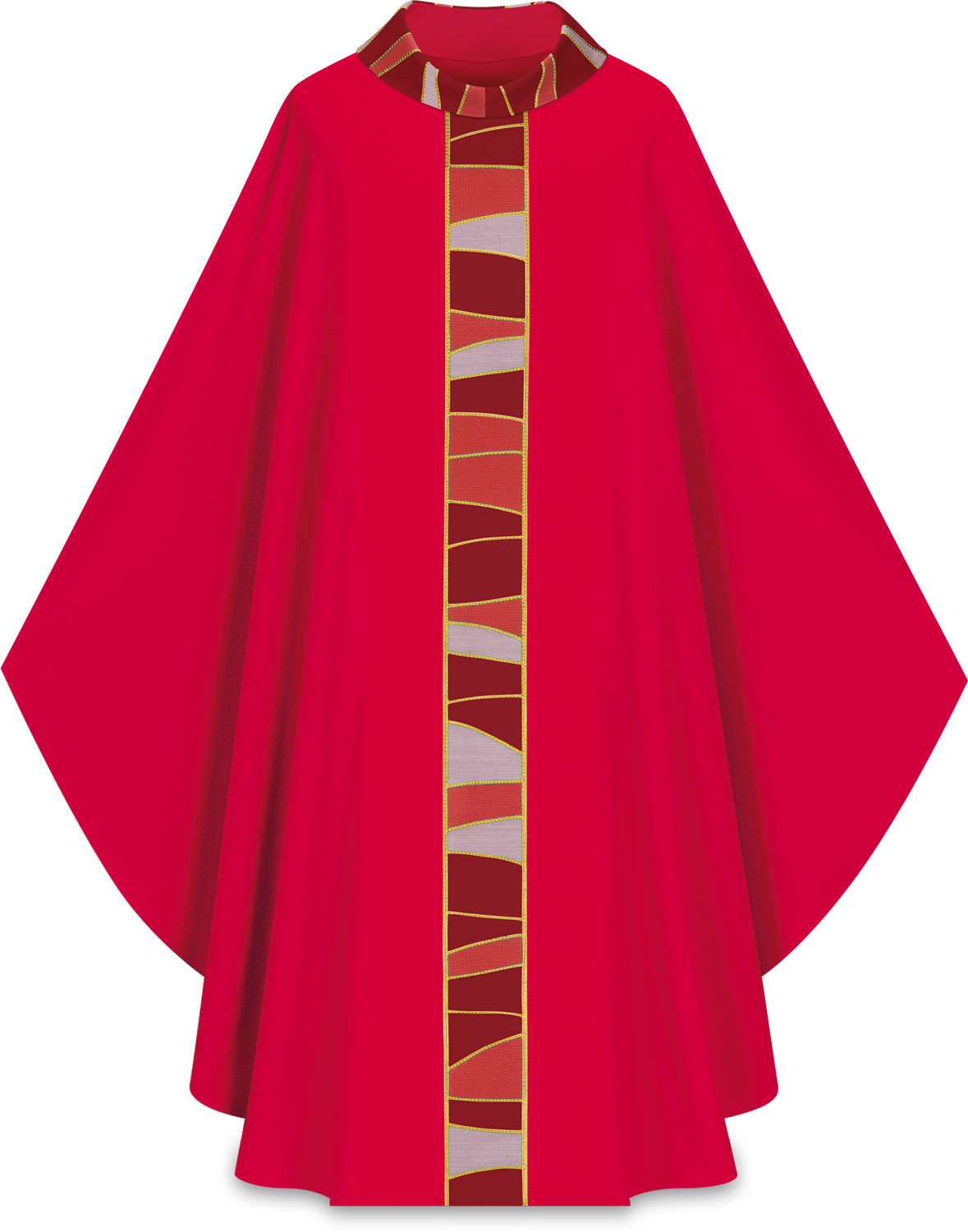 Chasuble | Red | 5176 | Slabbinck