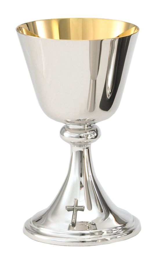 Brite Star Silver Chalice and Paten | A-105BS