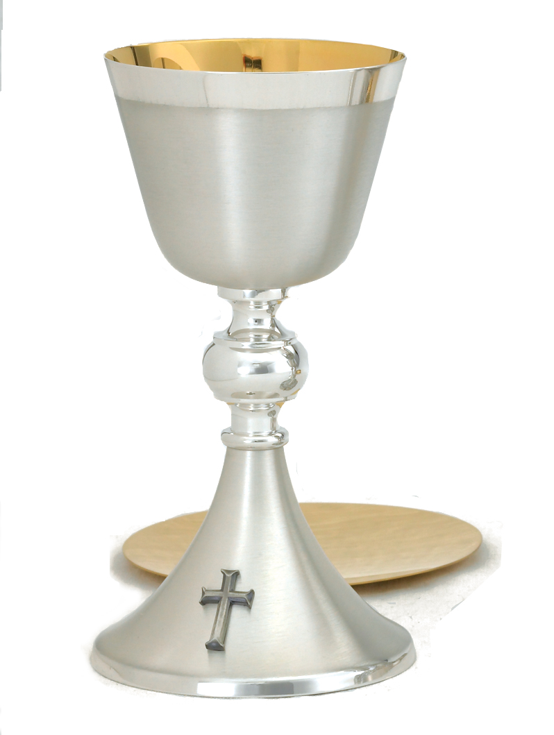 Brite Star Silver Chalice and Paten | A-136BS