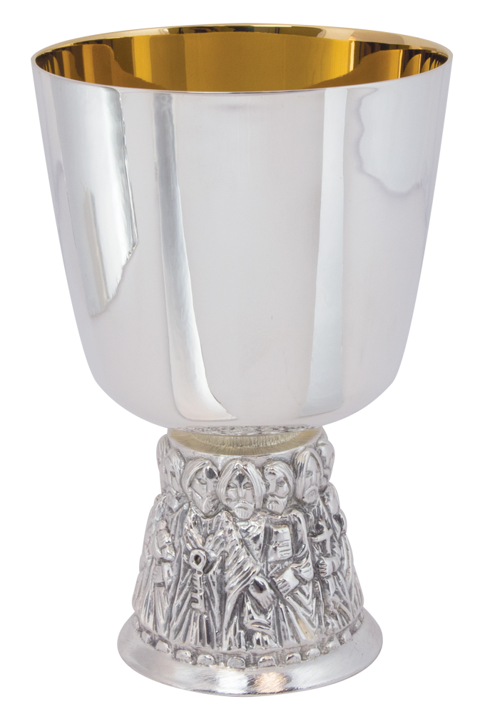 Brite Star Silver Chalice and Paten | A-2504BS