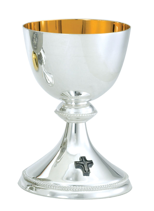 Silver Chalice and Paten | A-490S