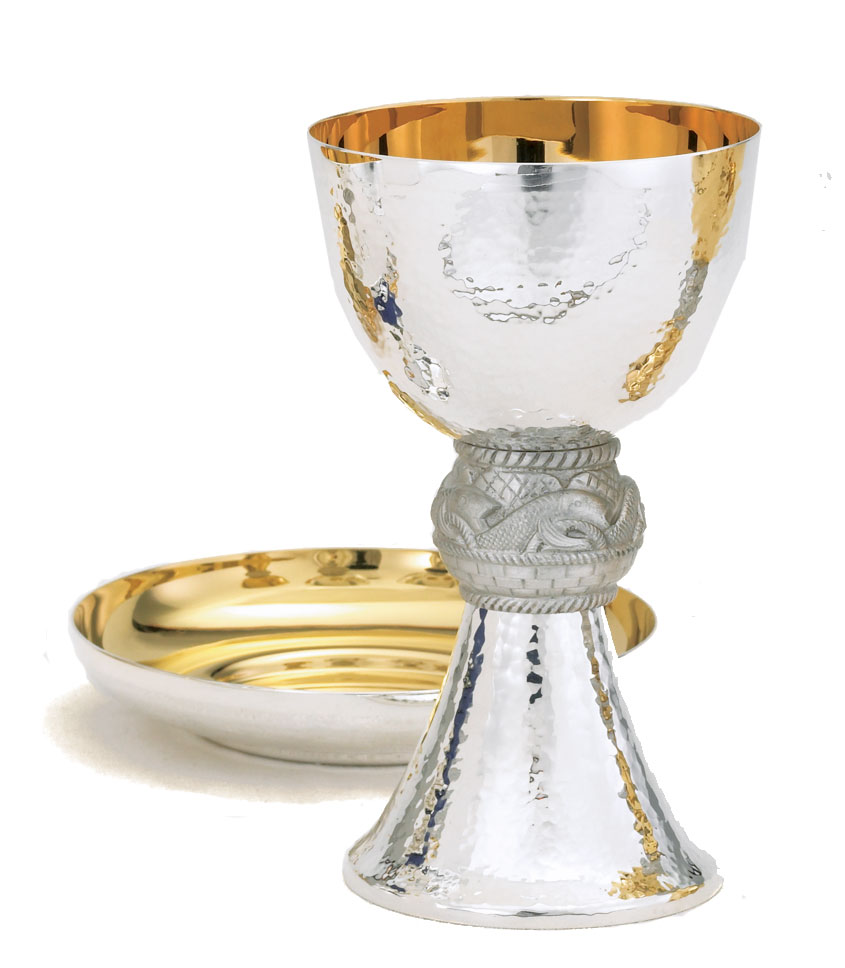 Silver Chalice and Paten | A-5008S