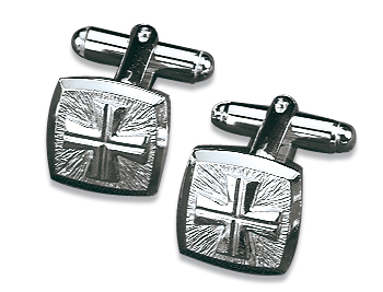 Silver Cufflinks for Clergy Shirts | 4813