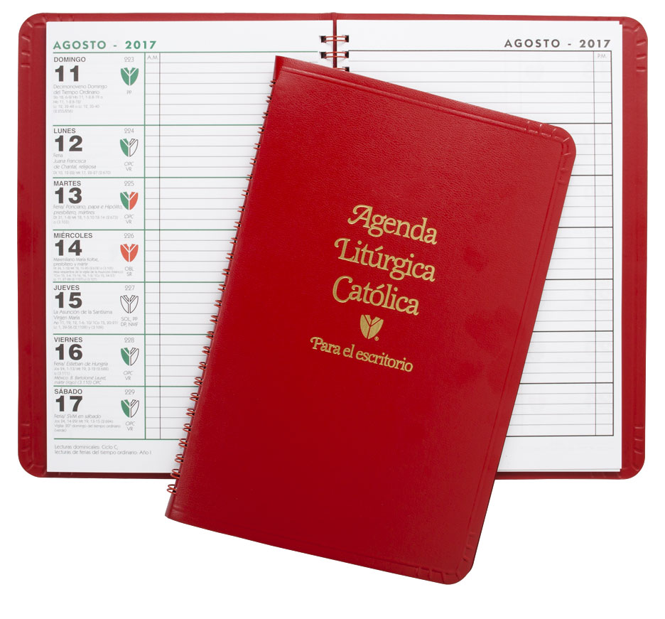 liturgical desk calendar spanish 2018
