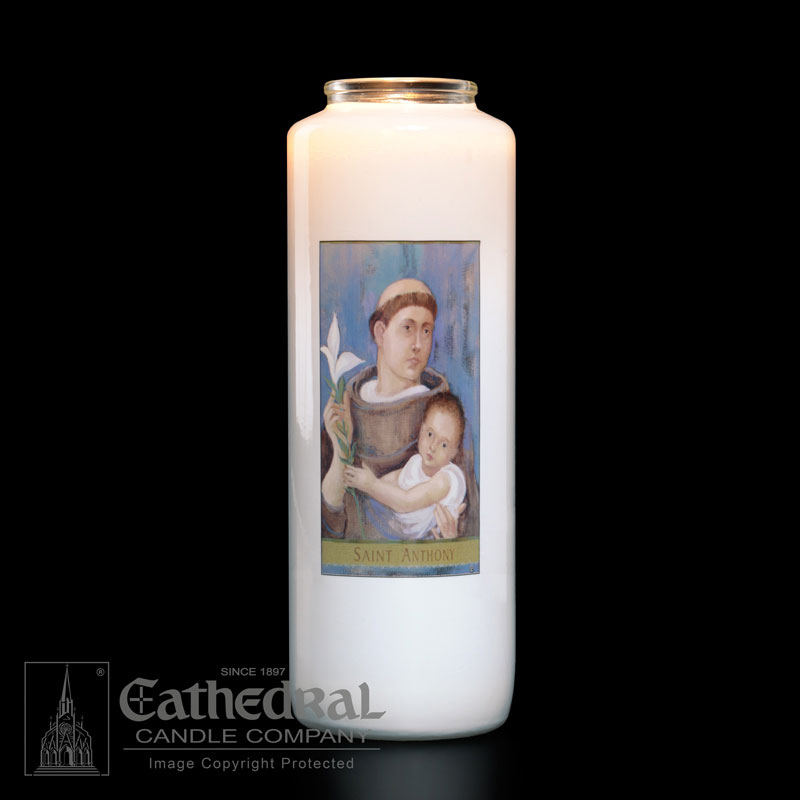 St. Anthony Patron Saint Candle