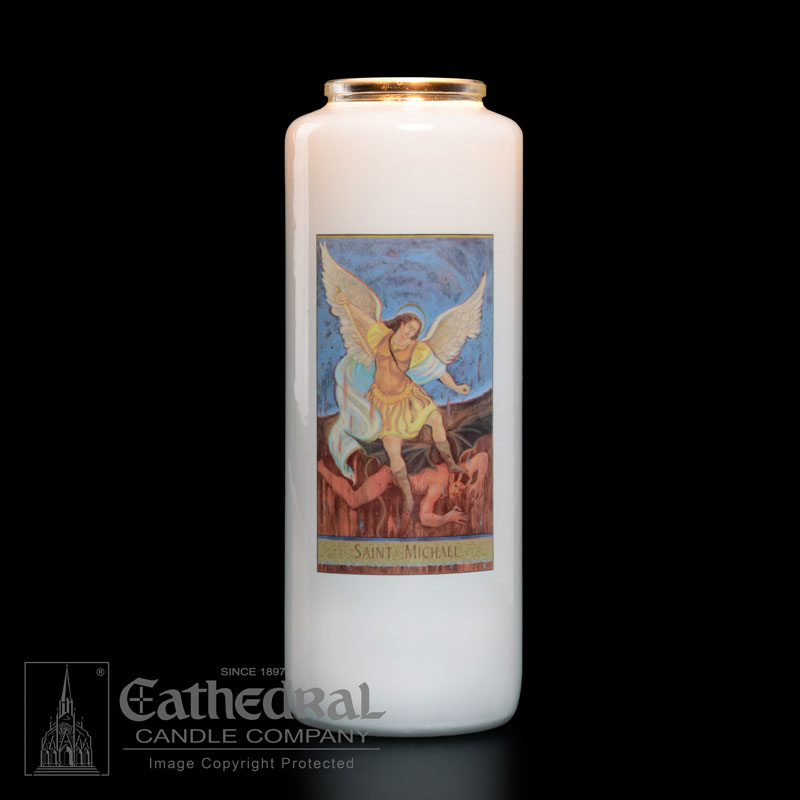 St. Michael Patron Saint Candle