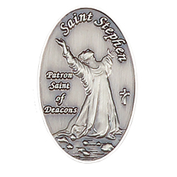 Lapel Pin - St. Stephen Deacon
