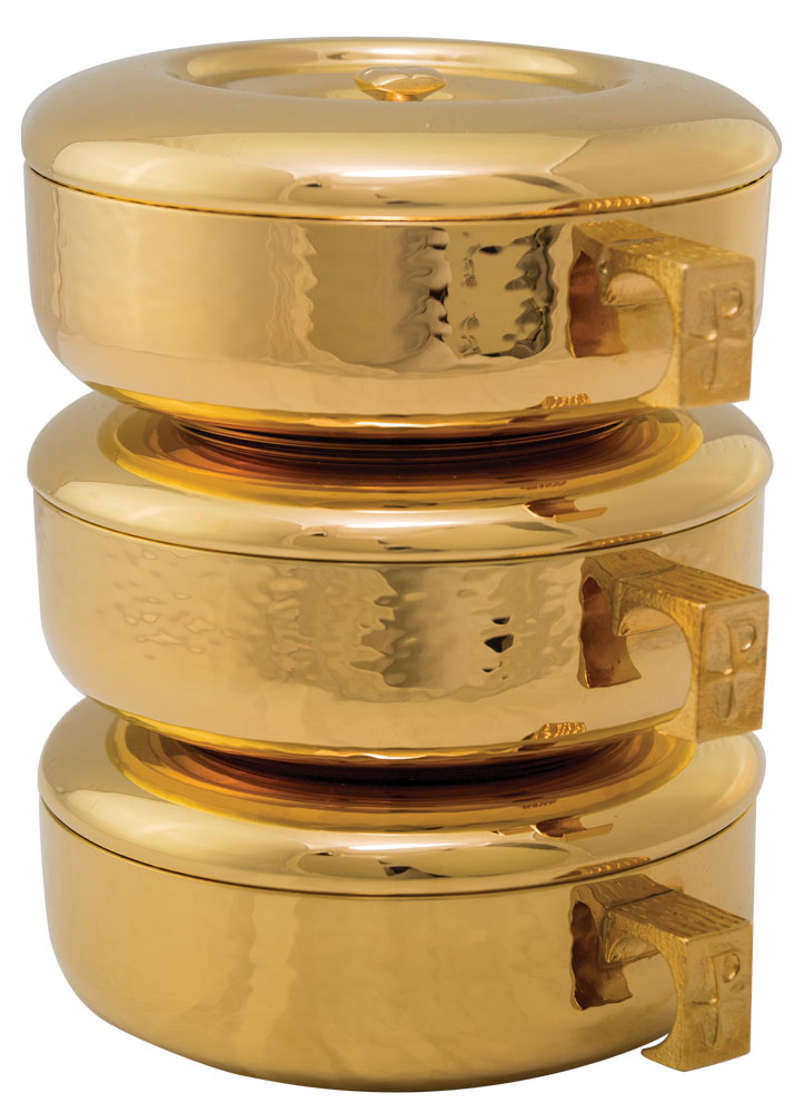 Stacking Ciboria | Gold Plated | 446G