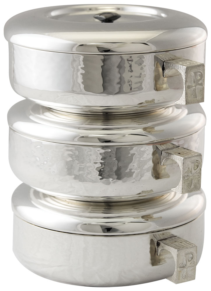 Stacking Ciboria | Silver Plated | 446S