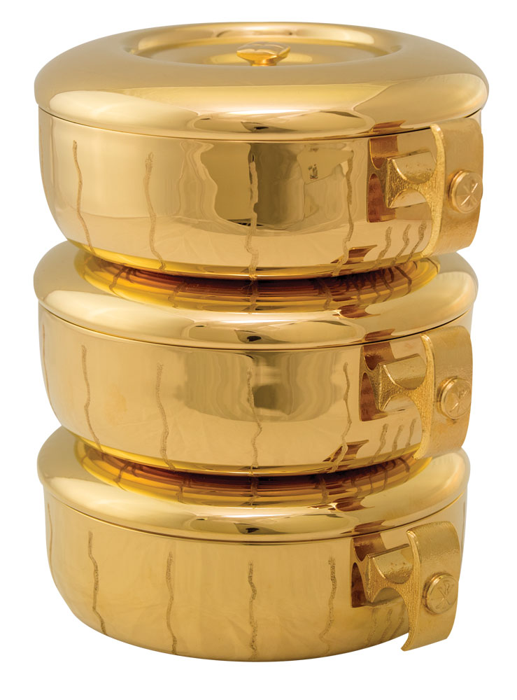 Stacking Ciboria | Gold Plated | 447G