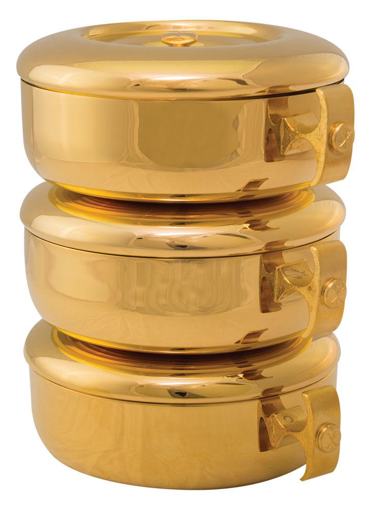 Stacking Ciboria | Gold Plated | 449G