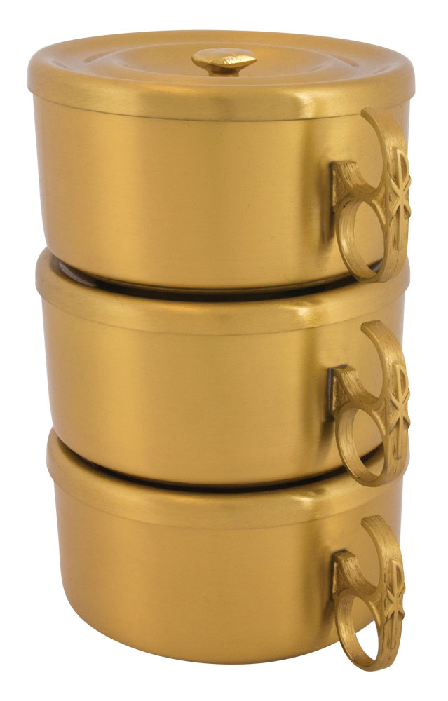 Stacking Ciboria | Gold Plated | 452G