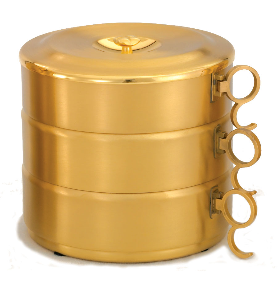 Stacking Ciboria | Gold Plated | 454G