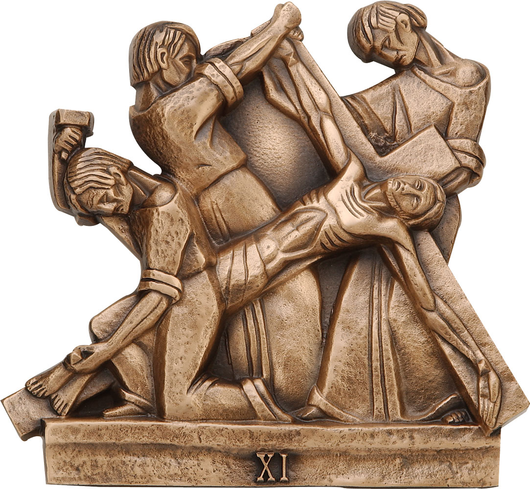 Stations of the Cross | Bronze | 10 x 11