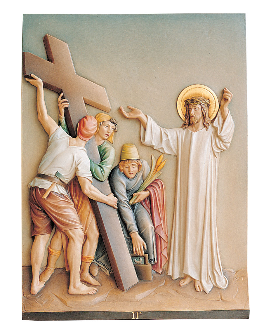 Fiberglass Stations of the Cross