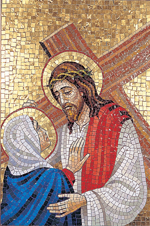 Stations of the Cross | Venetian Mosaic | Set of 14