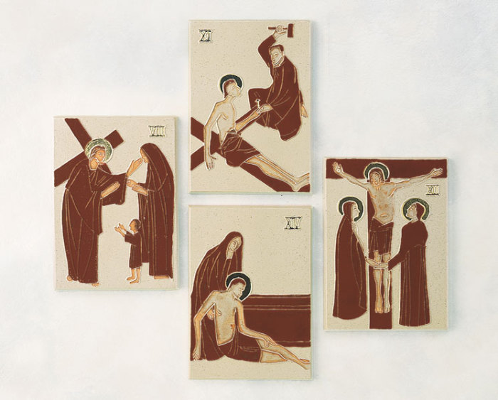 Stations of the Cross | Chestnut Red and Gold
