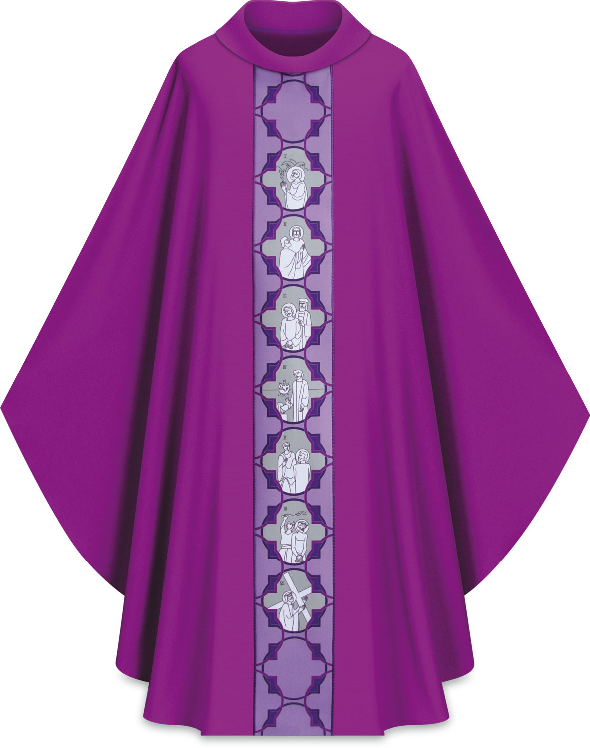 Chasuble | Stations of the Cross | 5222 | Slabbinck