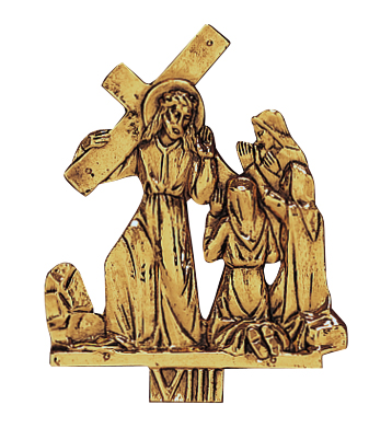 Stations of the Cross | 24kt Gold | Set of 14