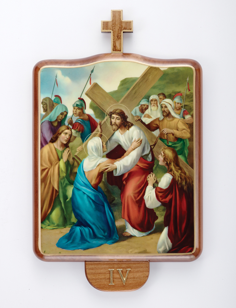 Stations of the Cross | Wood | Set of 15 | Large Size