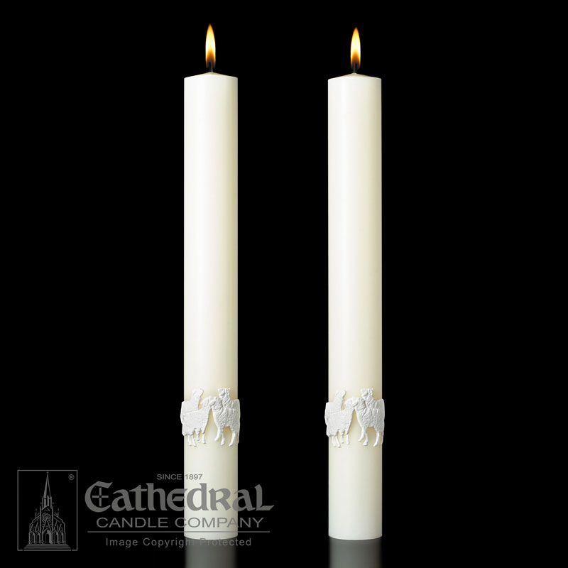 Altar Candle - The Good Shepherd