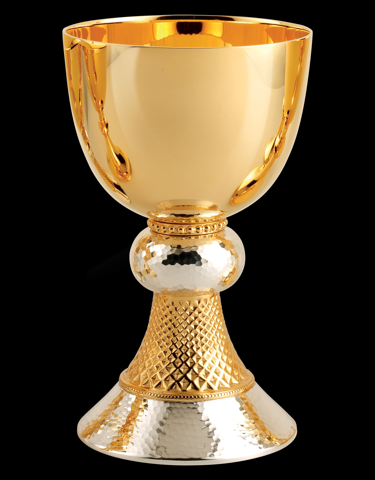 Chalice | Two Tone Hammered