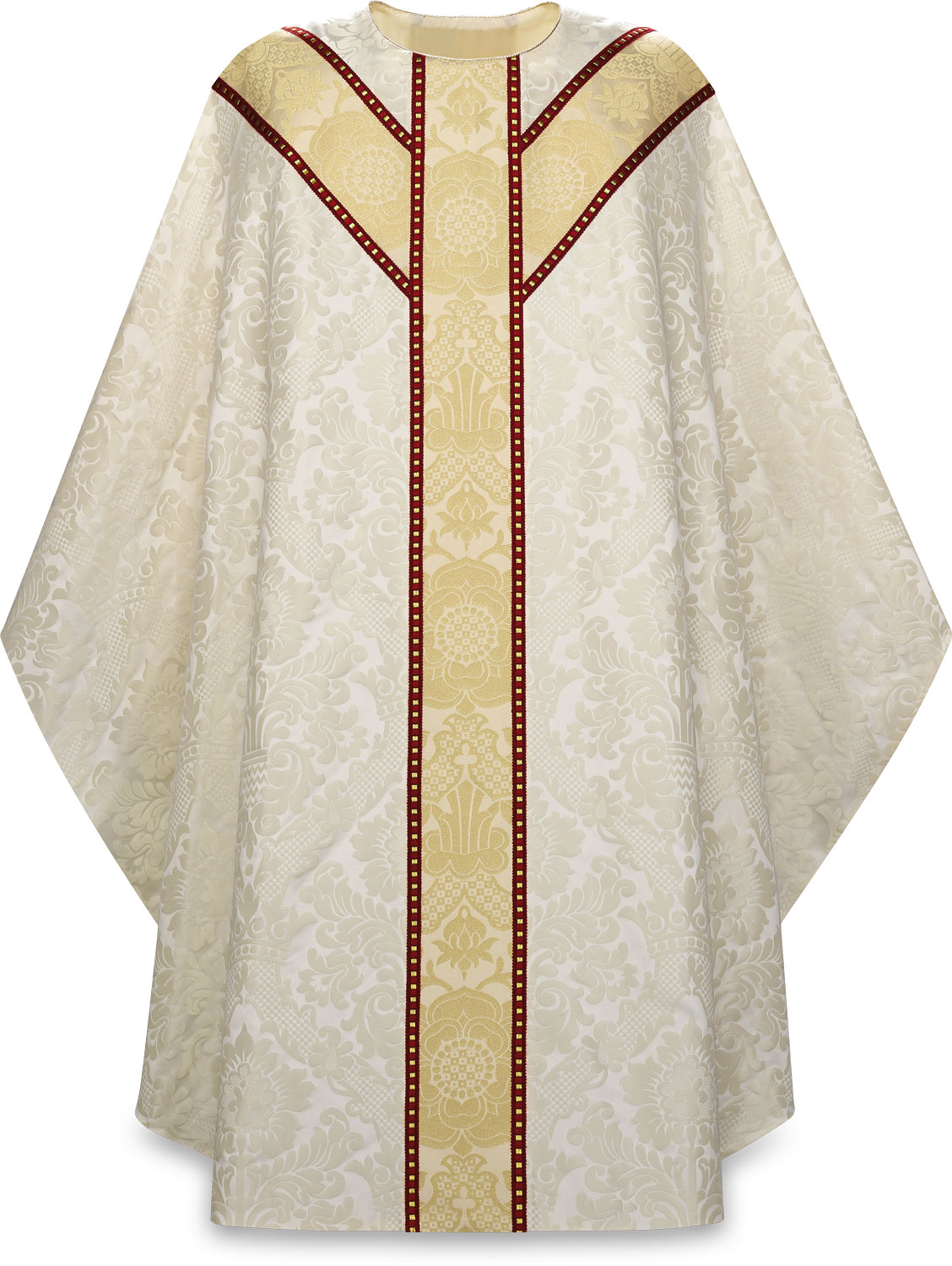 Chasuble | White | 5238 | Slabbinck