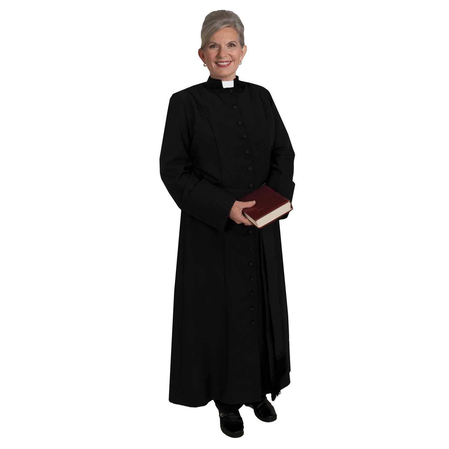 Women's Clergy Cassock | Black